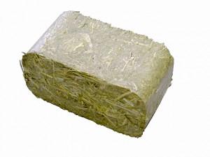 Брикет из сена